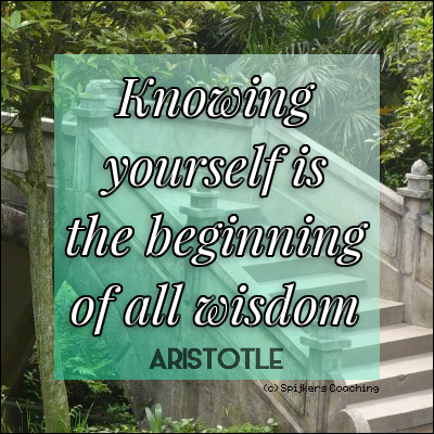 Knowing Yourself Is The Beginning Of All Wisdom (ARISTOTLE)